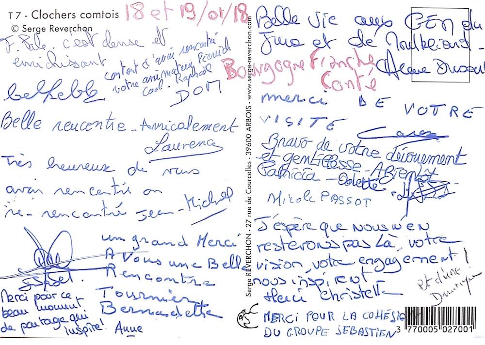 Retour de la formation Bourgogne / Franche-Comté