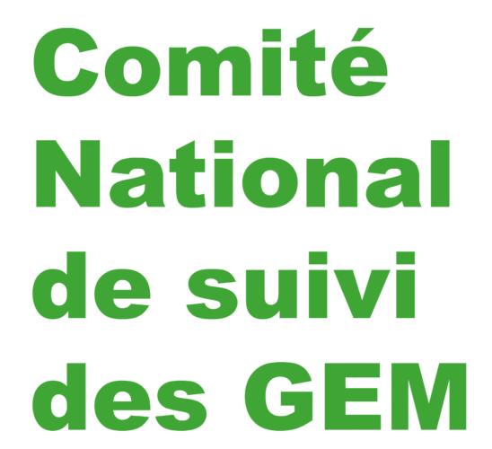 Compte-rendu de réunion du Comité National de suivi des GEM