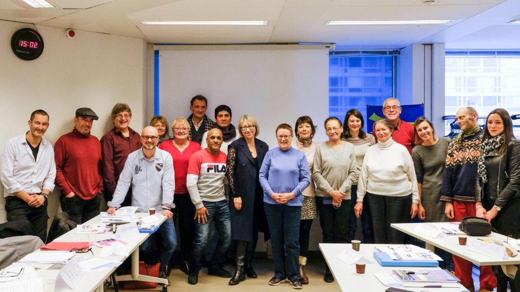 Deux jours de formation du CNIGEM dans les locaux de la CNSA à l'invitation de Marie-Anne Montchamp