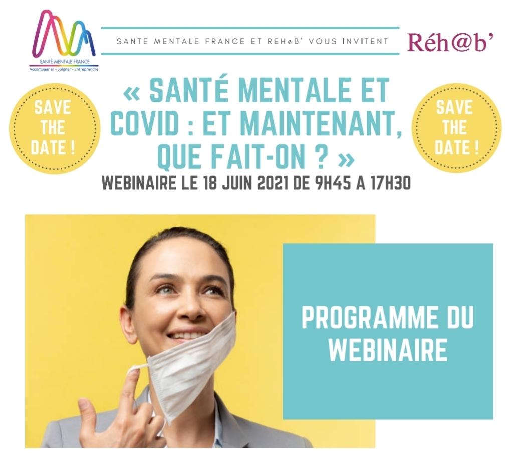 Le CNIGEM intervient lors du webinaire de Santé Mentale France du 18 juin 2021